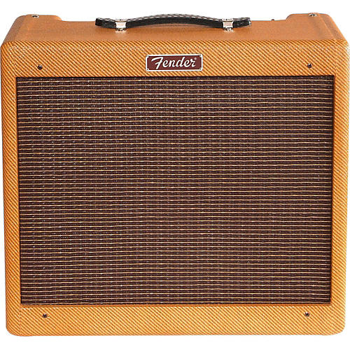 Fender Blues Junior Lacquered Tweed 15W 1x12 Combo-thumbnail