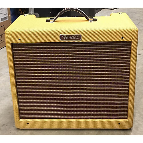 Fender Blues Junior NOS 15W 1x12 Tube Guitar Combo Amp-thumbnail
