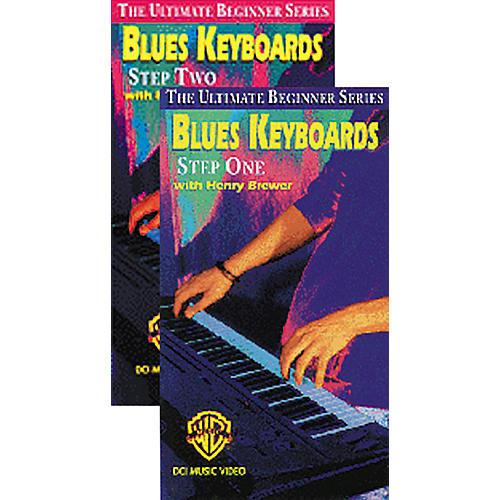 Alfred Blues Keyboard Step 1 & 2 Ultimate Beginner Series Video Package (VHS)