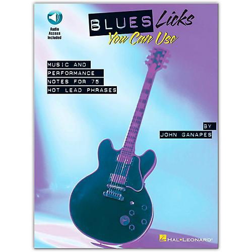 Hal Leonard Blues Licks You Can Use - Guitar (Book/Online Audio)