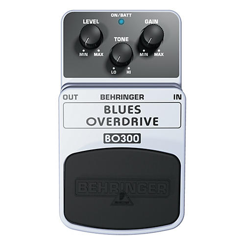 Behringer Blues Overdrive BO300 Guitar Effects Pedal