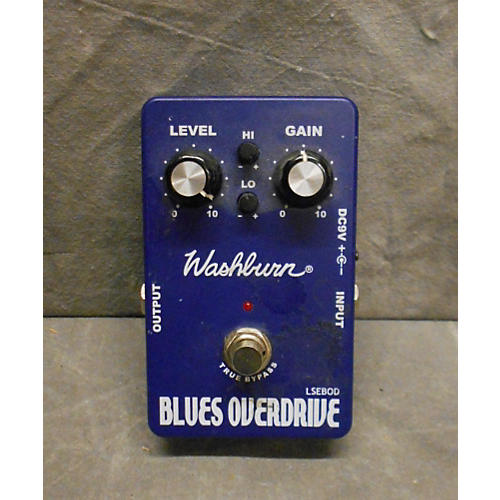 Washburn Blues Overdrive Effect Pedal