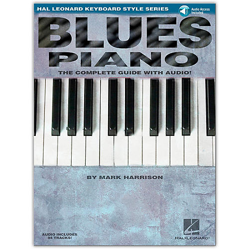 Hal Leonard Blues Piano Keyboard Style Series (Book/Online Audio)-thumbnail