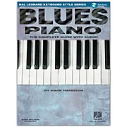 Hal Leonard Blues Piano Keyboard Style Series Book and CD