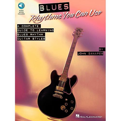 Hal Leonard Blues Rhythms You Can Use Book/CD-thumbnail