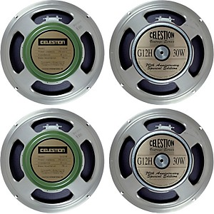 Celestion Blues/Rock 4x12 Speaker Set by Celestion