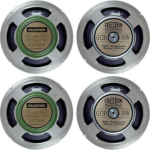 Celestion Blues/Rock 4x12 Speaker Set