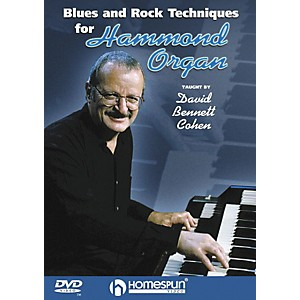 Homespun Blues and Rock Techniques for Hammond Organ DVD by Homespun