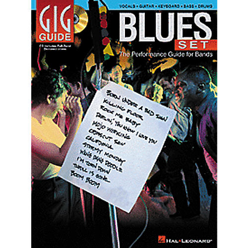 Hal Leonard Blues Set - The Performance Guide for Bands (Bass/Drums/Guitar/Vocal/Keyboard) Book/CD