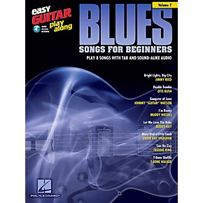 berklee press blues songs for beginners easy guitar play along volume 7 book cd guitar center. Black Bedroom Furniture Sets. Home Design Ideas