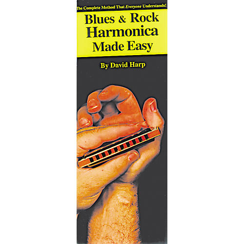 Music Sales Blues and Rock Harmonica Made Easy Compact Reference Book-thumbnail