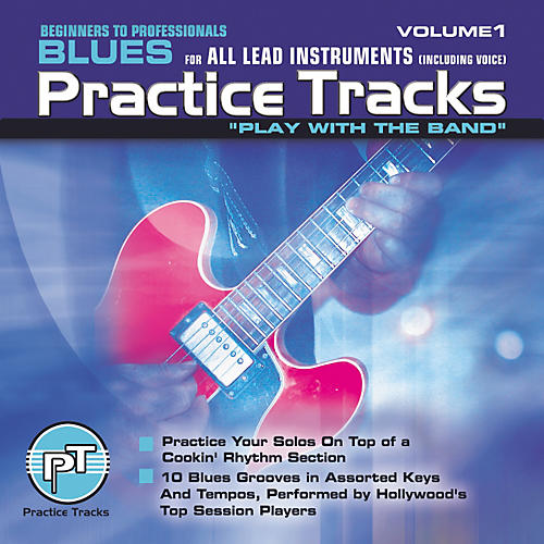 Practice Tracks Blues for All Lead Instruments (CD)