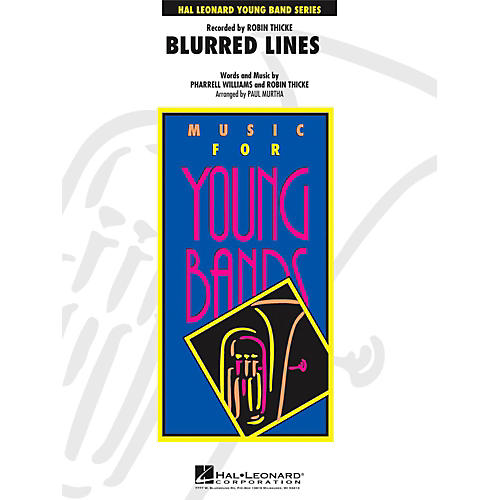 Hal Leonard Blurred Lines - Young Concert Band Level 3-thumbnail