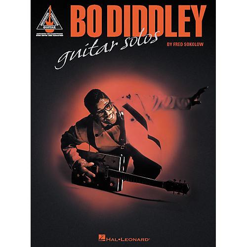 Hal Leonard Bo Diddley Guitar Solos - Guitar Tab Songbook-thumbnail