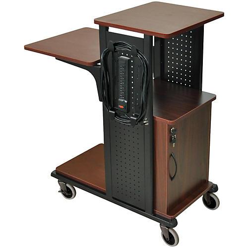 H. Wilson Boardroom Presentation Station with Locking Cabinet