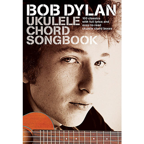 Wise Publications Bob Dylan - Ukulele Chord Songbook Ukulele Series Softcover Performed by Bob Dylan