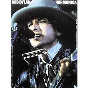 Music Sales Bob Dylan Harmonica Book by Music Sales
