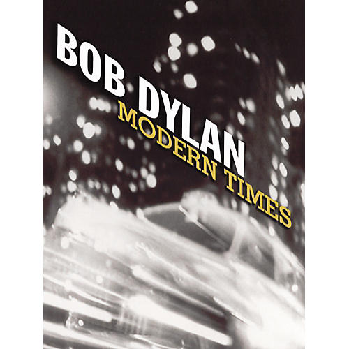 Music Sales Bob Dylan  Modern Times Piano, Vocal, Guitar Songbook-thumbnail