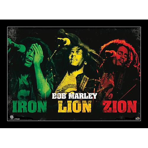 Ace Framing Bob Marley - Iron Lion Zion 24x36 Poster-thumbnail