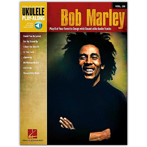 Hal Leonard Bob Marley - Ukulele Play-Along Vol. 26 Book/CD