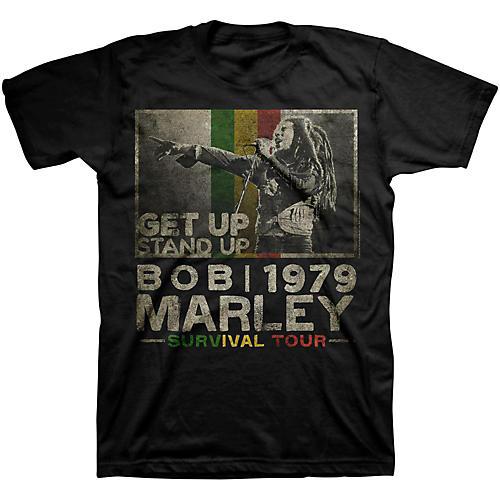 Bravado Bob Marley Get Up T-Shirt-thumbnail