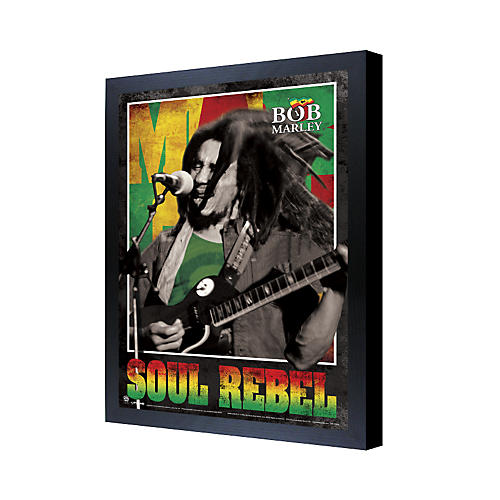 Ace Framing Bob Marley Soul Rebel 3D Framed Poster-thumbnail