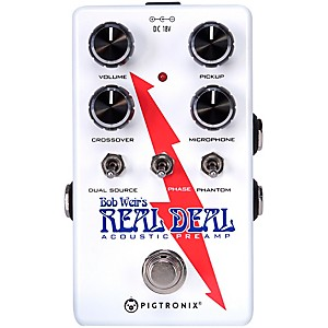 PiGuitaronix Bob Weirs Real Deal Acoustic Guitar Preamp Pedal