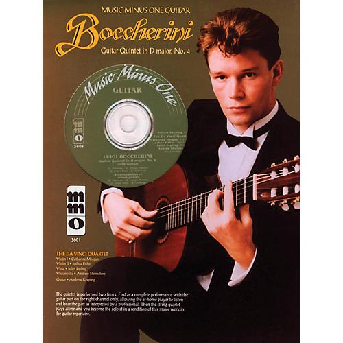 Music Minus One Boccherini - Guitar Quintet No. 4 in D, Fandango Music Minus One Series Softcover with CD