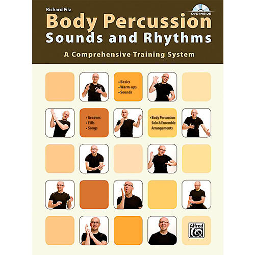 Alfred Body Percussion: Sounds and Rhythms Book & DVD-thumbnail
