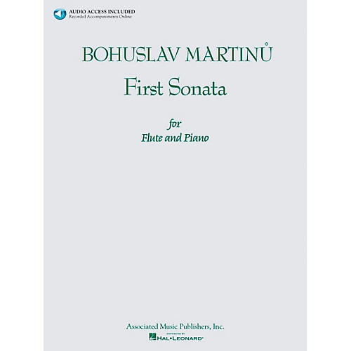 Associated Bohuslav Martinu First Sonata for Flute and Piano Book/CD-thumbnail