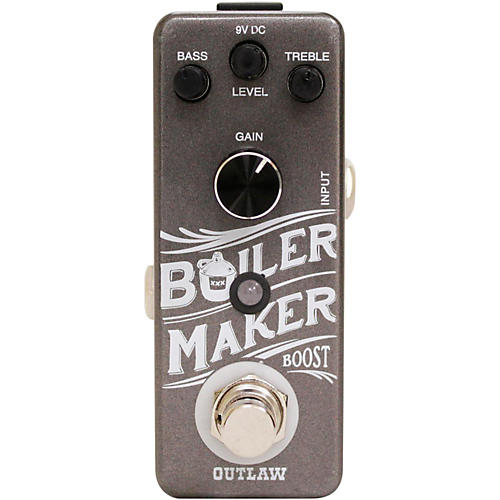 Outlaw Effects Boilermaker Clean Boost Guitar Effects Pedal-thumbnail
