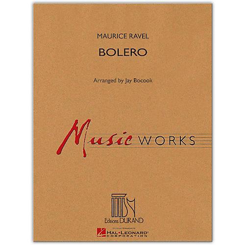Hal Leonard Bolero - MusicWorks Concert Band Grade 4-thumbnail
