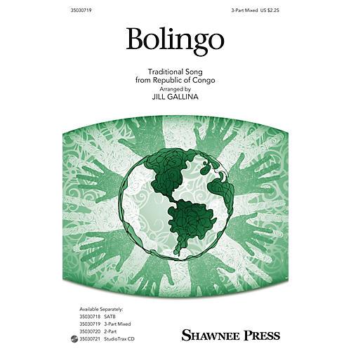 Shawnee Press Bolingo 3-Part Mixed arranged by Jill Gallina