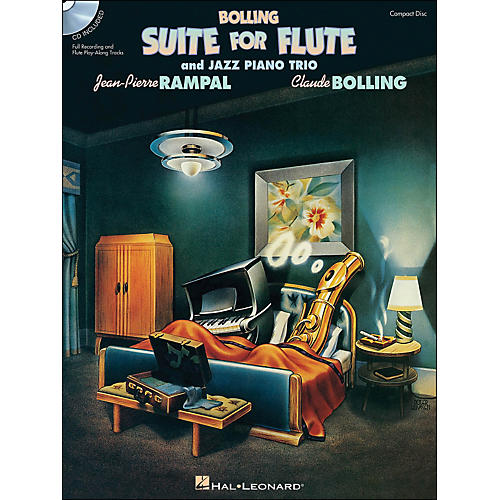 Hal Leonard Bolling Suite for Flute & Jazz Piano Trio Book Companion CD-thumbnail
