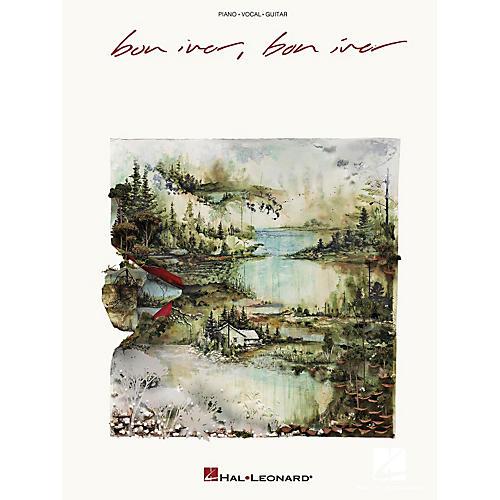 Hal Leonard Bon Iver - Bon Iver Piano/Vocal/Piano Songbook-thumbnail