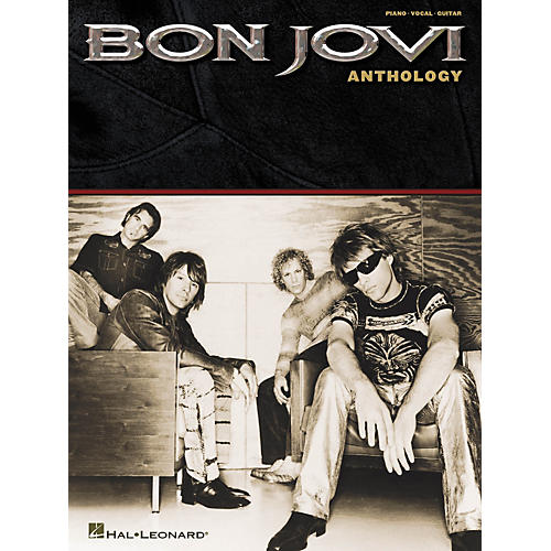 Hal Leonard Bon Jovi - Anthology Piano, Vocal, Guitar Songbook