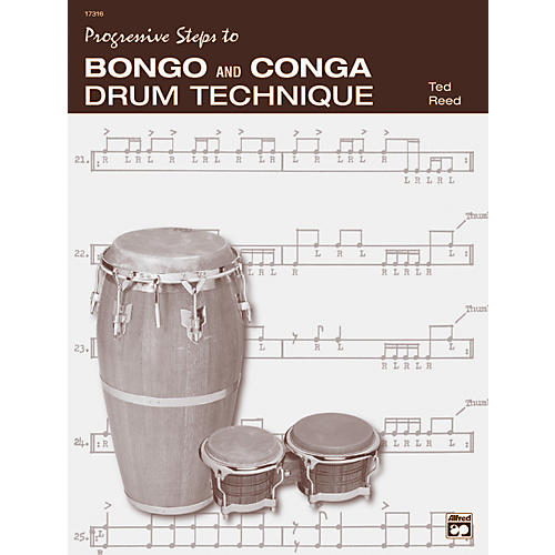 Alfred Bongo and Conga Drum Technique Book-thumbnail