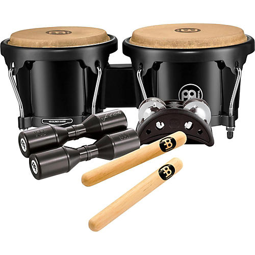 Meinl Bongo and Percussion Pack for Jam Sessions or Acoustic Sets-thumbnail