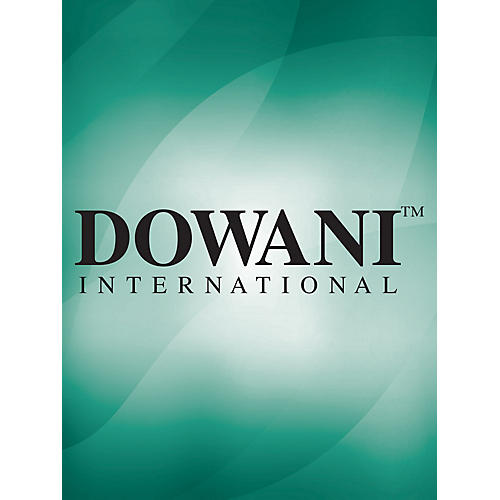 Dowani Editions Bononcini: Divertimento Da Camera No 3 in A Min for Treble (Alto) Recorder and Basso Cont Dowani Book/CD