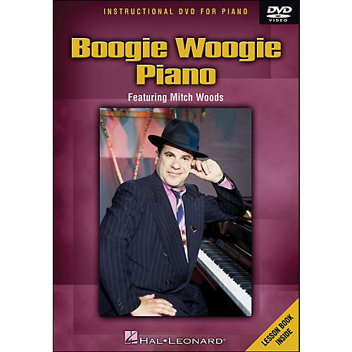 Hal Leonard Boogie Woogie Piano - DVD Featuring Mitch Woods-thumbnail