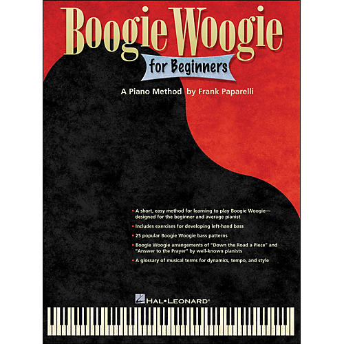Hal Leonard Boogie Woogie for Beginners - A Piano Method By Frank Paparelli-thumbnail