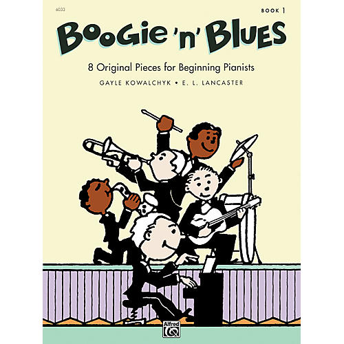 Alfred Boogie 'n' Blues Book 1 Piano-thumbnail