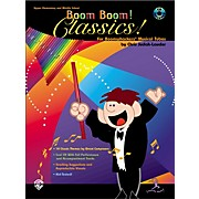 Alfred Boom Boom! Classics! Book with CD