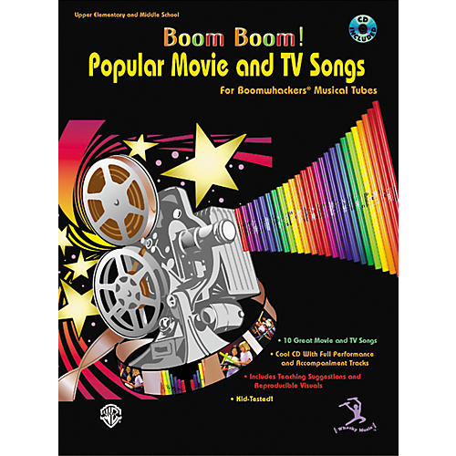 Alfred Boom Boom! Popular Movie and TV Songs for Boomwhackers Book with CD-thumbnail