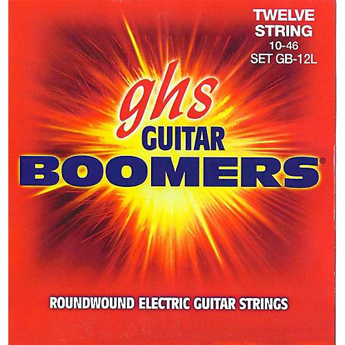 GHS Boomer 12 String Light Electric Guitar Set (10-46)-thumbnail