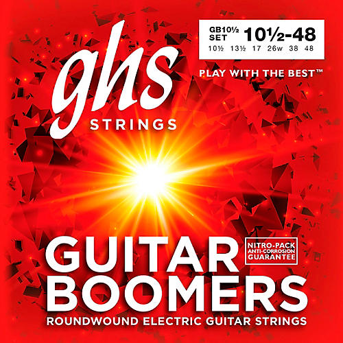GHS Boomers GB10 1/2 Electric Guitar Strings-thumbnail