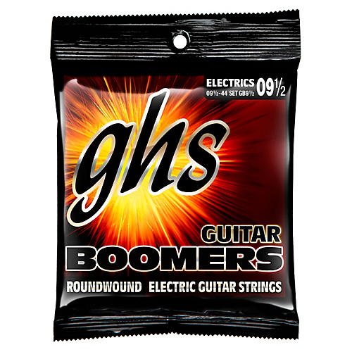 GHS Boomers GB9 1/2 Electric Guitar Strings-thumbnail