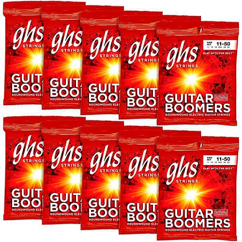 GHS Boomers Medium Electric Guitar Strings 10-Pack-thumbnail