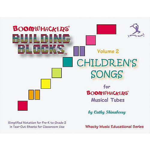 Boomwhackers Boomwhackers Building Blocks Childrens Songs, Volume 2 Book-thumbnail
