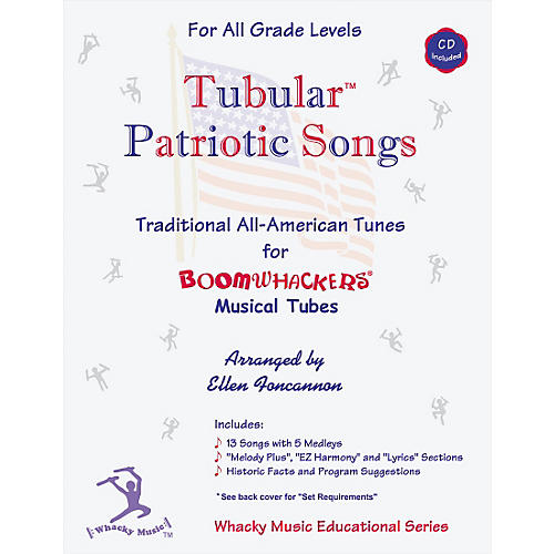 Boomwhackers Boomwhackers Tubes Tubular Patriotic Songs Book with CD